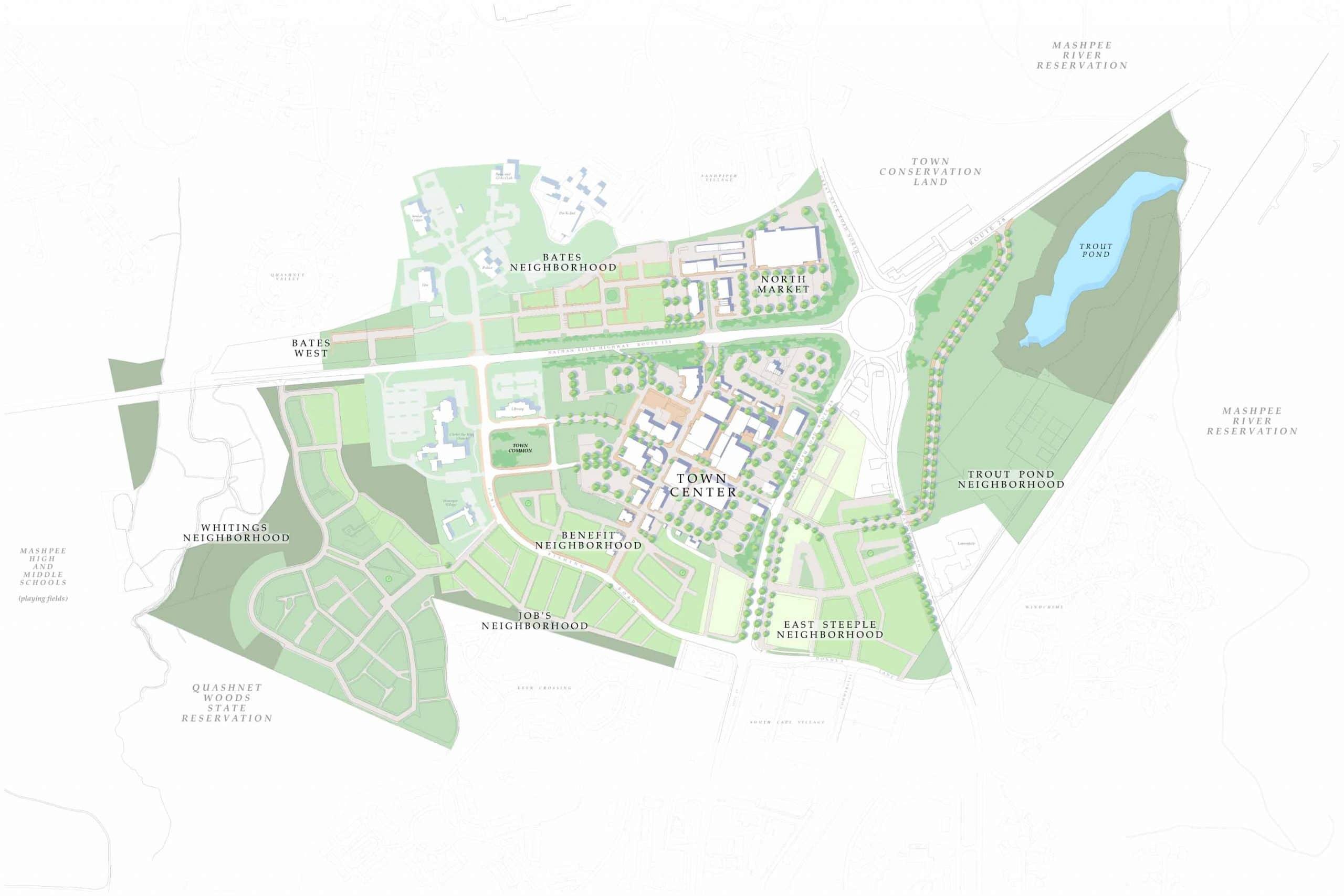 Mashpee Commons Neighborhood Expansion